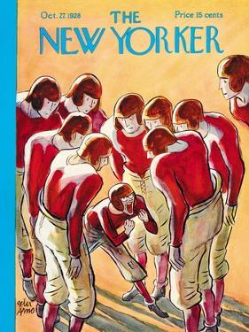 The New Yorker Cover - October 27, 1928 by Peter Arno