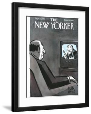 The New Yorker Cover - September 30, 1950 by Peter Arno