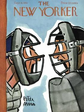 The New Yorker Cover - September 8, 1951 by Peter Arno