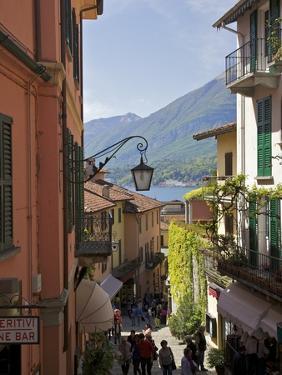 Backstreets of Bellagio, Lake Como, Lombardy, Italian Lakes, Italy, Europe by Peter Barritt
