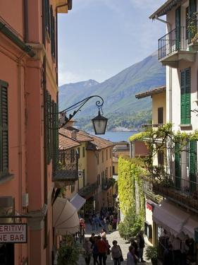 Backstreets of Bellagio, Lake Como, Lombardy, Italian Lakes, Italy, Europe by Peter Barritt