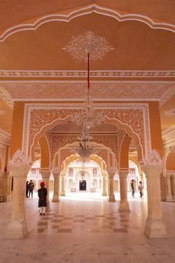Hall of Public Audience (Diwan-E-Khas), City Palace, Jaipur, Rajasthan, India, Asia by Peter Barritt