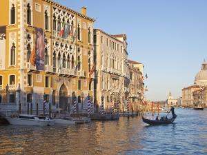 Palazzo Cavalli Franchetti From Accademia Bridge, Grand Canal, Venice, UNESCO World Heritage Site by Peter Barritt