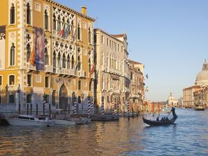 Palazzo Cavalli Franchetti From Accademia Bridge, Grand Canal, Venice, UNESCO World Heritage Site by Peter Barritt