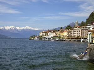 Spring Sunshine in Bellagio, Lake Como, Lombardy, Italian Lakes, Italy, Europe by Peter Barritt