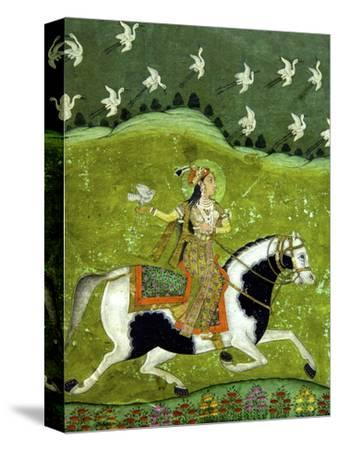 Sultan Razia of Delhi, 18th Century, Archaeological Museum, Red Fort, Delhi, India, Asia by Peter Barritt