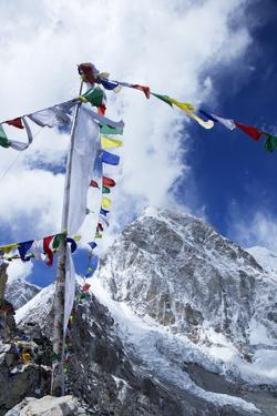 Summit of Kala Patthar Looking to Pumo Ri by Peter Barritt