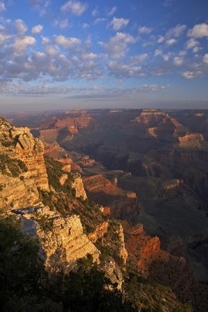 Sunrise at Mather Point, South Rim, Grand Canyon Nat'l Park, UNESCO Site, Arizona, USA