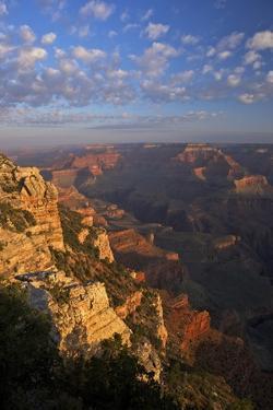 Sunrise at Mather Point, South Rim, Grand Canyon Nat'l Park, UNESCO Site, Arizona, USA by Peter Barritt