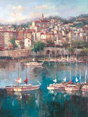Mediterranean Harbor II by Peter Bell