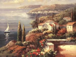 Mediterranean Vista by Peter Bell
