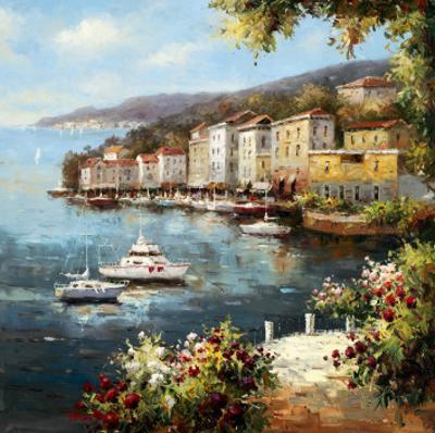 Mediterranean Yacht Harbor by Peter Bell