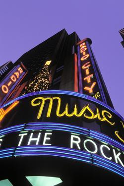 Christmas, Radio City Music Hall, Manhattan, New York, USA by Peter Bennett