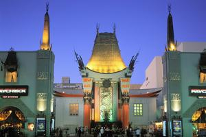 Grauman's Chinese Theatre, Los Angeles, California, USA by Peter Bennett