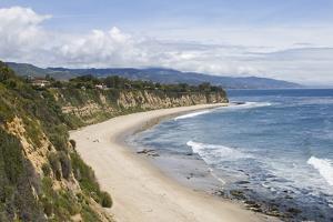 Point Dume, Malibu, California, USA by Peter Bennett