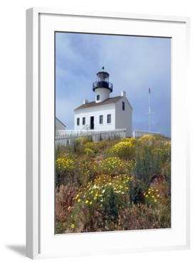 Point Loma Lighthouse, San Diego, California, USA by Peter Bennett