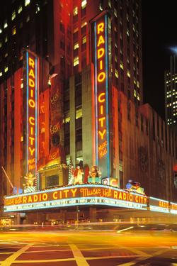 Radio City Music Hall, Manhattan, New York, USA by Peter Bennett