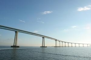San Diego-Coronado Bridge, San Diego, California, USA by Peter Bennett