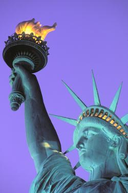 Statue of Liberty, New York, USA by Peter Bennett