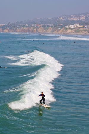 Surfers, Pacific Beach, San Diego, California, USA