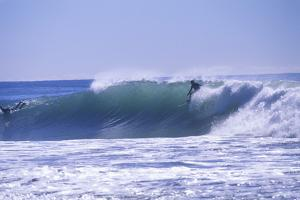 Surfers, Zuma Beach, Malibu, California, USA by Peter Bennett