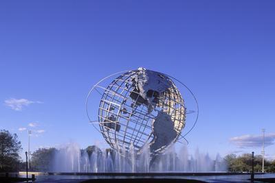 Unisphere, Flushing Meadow Park, Queens, New York, USA