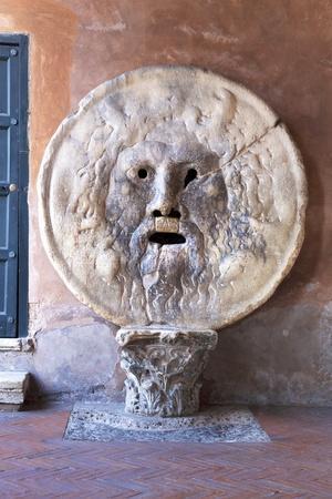 Bocca Della Verita, Santa Maria in Cosmedin, Rome, Lazio, Italy, Europe