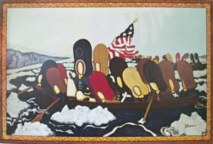 Crossing the Delaware by Peter Butler