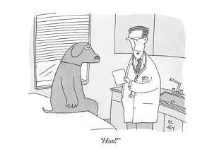 """Heal!"" - New Yorker Cartoon by Peter C. Vey"