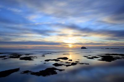 Bass Rock at Dawn, North Berwick, Scotland, UK, August. 2020Vision Book Plate
