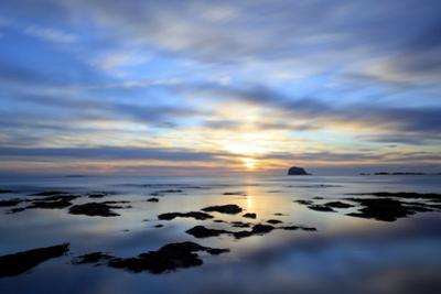 Bass Rock at Dawn, North Berwick, Scotland, UK, August. 2020Vision Book Plate