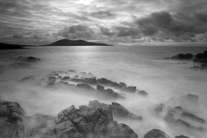 Stormy Weather across the Sound of Harris. Outer Hebrides, Scotland, April 2012 by Peter Cairns