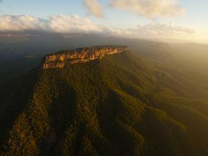 The Great Blue Mountains Contain Several Popular Canyoneering Spots by Peter Carsten