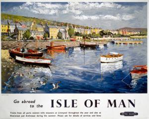Go abroad to the Isle of Man, BR (LMR), c.1948-1965 by Peter Collins