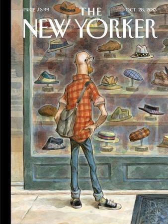 Top Choice - The New Yorker Cover, October 28, 2013