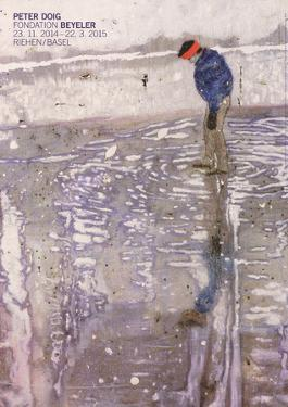 Blotter (Detail) by Peter Doig