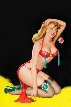 Beauty Parade Magazine; Rose by Peter Driben