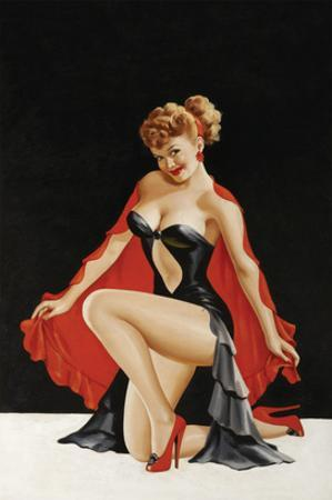 Magazine Cover; Little Red Cape by Peter Driben