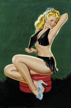Mid-Century Pin-Ups - Beauty Parade - Uncovering Beauty by Peter Driben