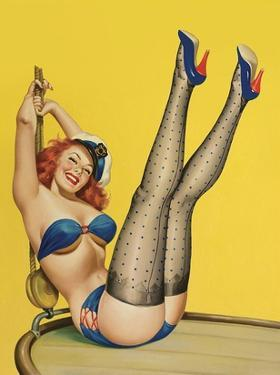 Mid-Century Pin-Ups - Flirt Magazine - Sailor Girl by Peter Driben