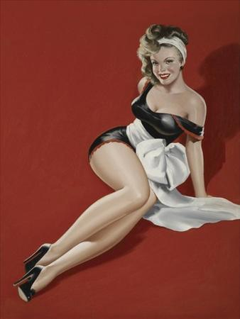 Mid-Century Pin-Ups - Magazine Cover - The Gift by Peter Driben