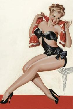 Mid-Century Pin-Ups - Wink Magazine - Silk Stockings & High Heels by Peter Driben