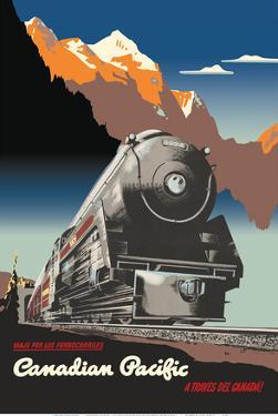 Across Canada (A Través del Canadá) - Canadian Pacific Railway by Peter Ewart