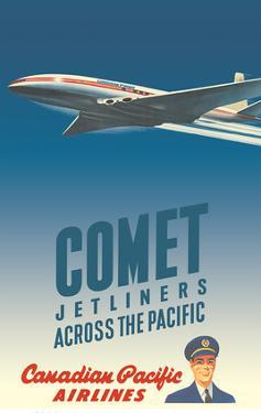 Comet Jetliners Across the Pacific - Canadian Pacific Airlines by Peter Ewart