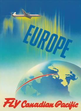 Europe - Fly Canadian Pacific Air Lines by Peter Ewart