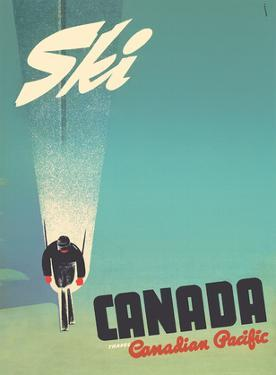 Ski Canada - Canadian Pacific by Peter Ewart
