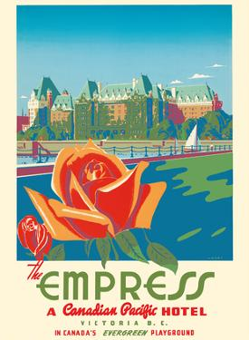 Victoria, Canada - The Empress Hotel - a Canadian Pacific Hotel by Peter Ewart