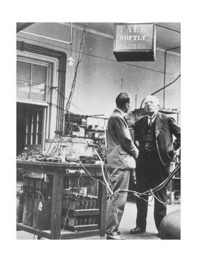 E. Rutherford In the Cavendish Laboratory by Peter Fowler