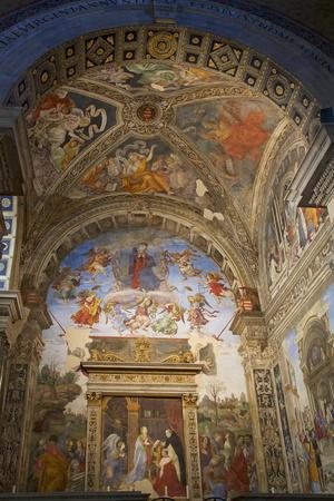 Frescoes by Filippino Lippi
