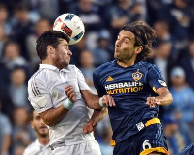 Mls: LA Galaxy at Sporting KC by Peter G Aiken